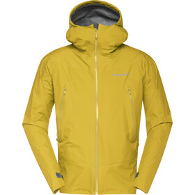 Norrøna Falketind Gore-Tex Jacket Herre golden palm